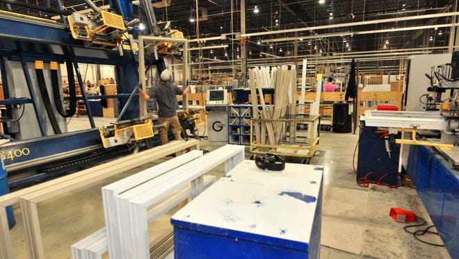B.F. Rich, which makes windows and doors, is closing its manufacturing facility in Ogletown. The company is laying off 130 workers.