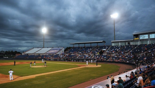 The Brevard County Manatees played their final baseball game at the Space Coast Stadium in Viera in September 2016.