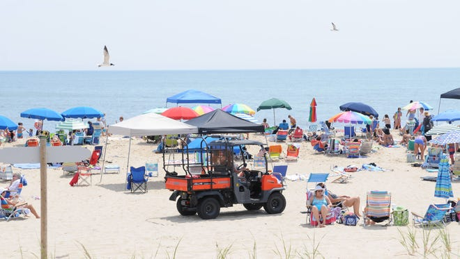 Bethany Beach voted on and approved banning tents and canopies from their beach Feb. 16, 2018.
