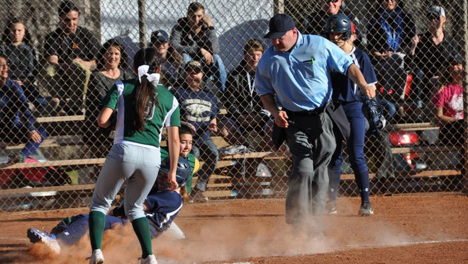 The Lady Warriors softball team fell 17-10 to West Las Vegas March 14 at home.