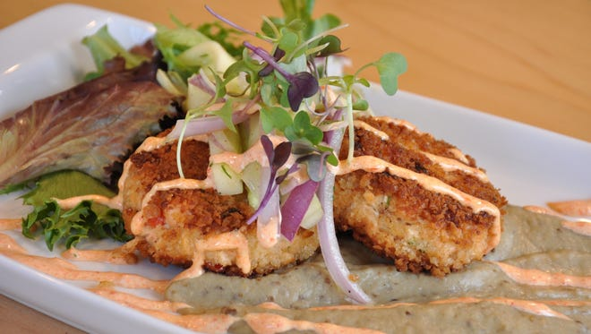 A crab cake special at Capital Craft.