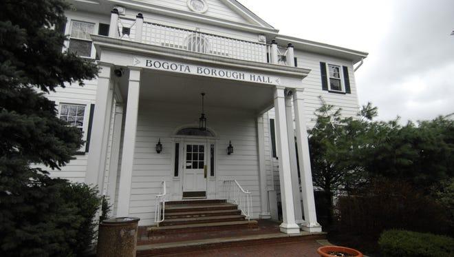 File photo of Bogota Borough Hall.