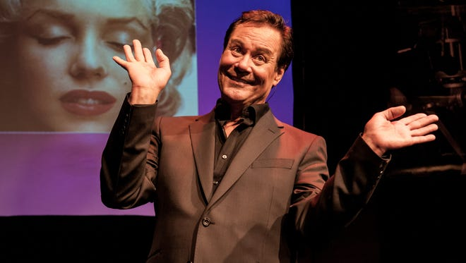 Chris Lemmon hams it up in a scene from the new version of his one-man show.