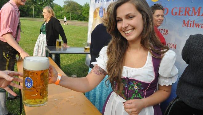 Estabrook Beer Garden opens for a few hours.