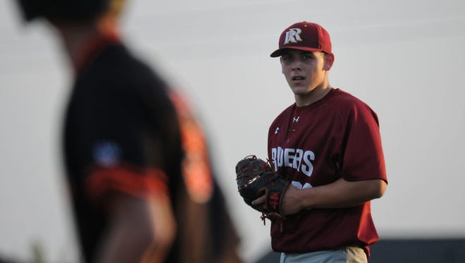 Roosevelt junior right-hander Gus Radel has attracted college scouts with his 90-mph fastball