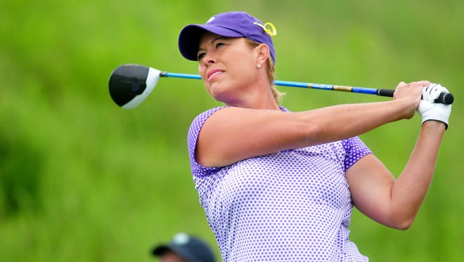Michelle McGann will play the inaugural Senior LPGA Tour Championship in French Lick.