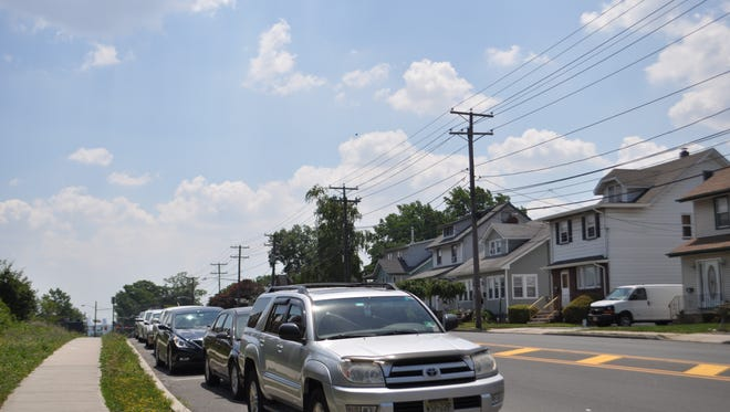 Lyndhurst residents are unhappy about the loss of public parking since Rutherford began charging for spaces across the street from their homes.