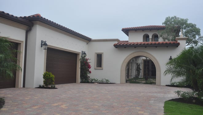 The Cilento is a new model by London Bay Homes in Miromar Lakes Beach & Golf Club.