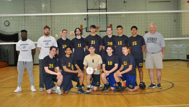 Hackensack had a record of 16-8 and advanced to the Bergen County tournament semifinals.