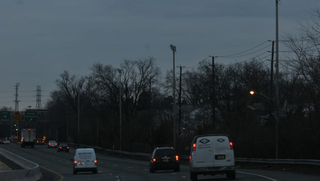 In this 2012 photo, vehicles ride Route 21 in the area of Belleville and Nutley.