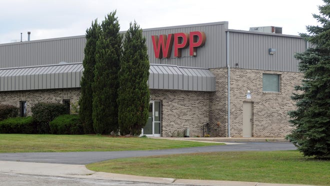Wright Plastic Products company in St. Clair.