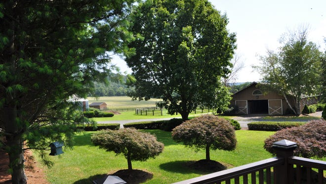 Hidden River Farm, a 144-acre equestrian facility in Bethlehem on the  Musconetcong River, will be auctioned on Sept. 27 by Max Spann Estates and Auctions.
