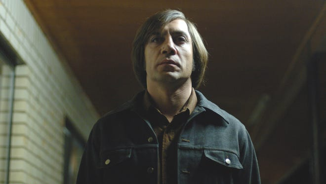 """Javier Bardem as Anton Chigurh in a scene from """"No Country for Old Men."""""""