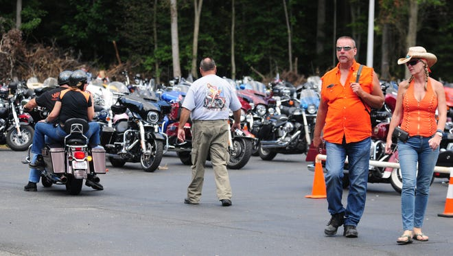 In this file photo, bikers pile in  to events at the Oasis Bar 'N' Grill in Whaleyville.