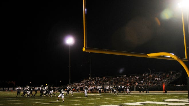 The Eau Gallie-Melbourne football game often means a packed stadium.