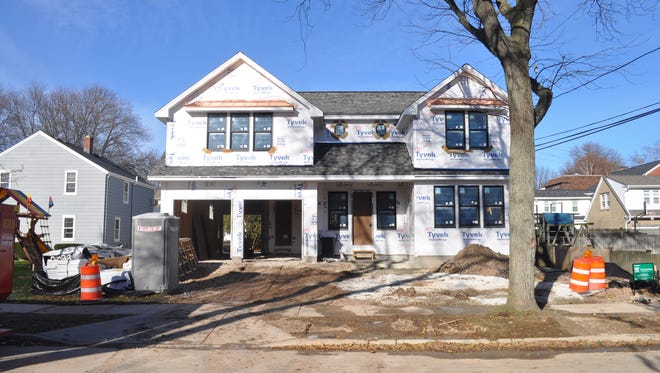 This new house at 1414 E. Fairmount Ave. is nearly triple the size of the previous house on the lot. Some Whitefish Bay residents are upset about the number of demolitions and rebuilds in the village.