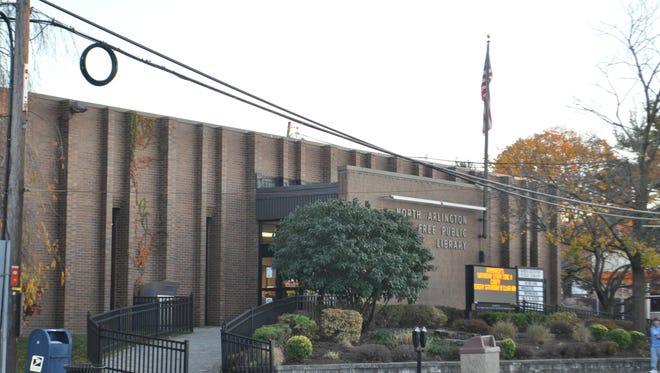 The North Arlington Library on Ridge Road.