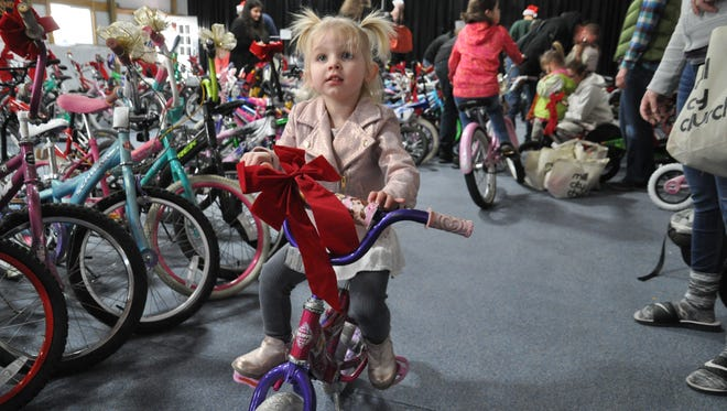 This year's Realities for Children Bikes for Tykes program provided more than 500 bicycles to area youths in need.