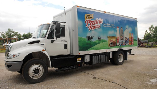 Prairie Farms Dairy Co. is building a $29 million addition to its plant in Fort Custer Industrial Park.