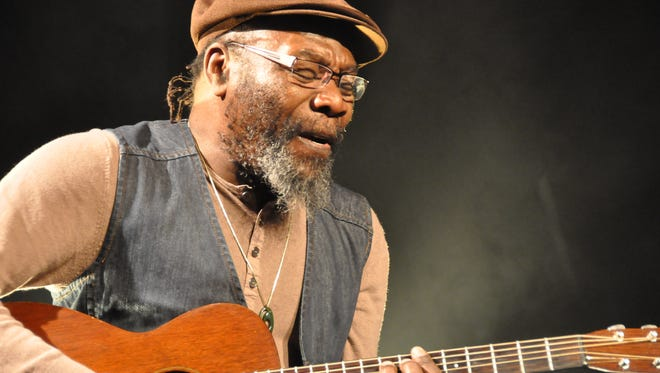Clinton Fearon and the Boogie Brown Band will bring reggae to the first National Folk Festival in Salisbury.
