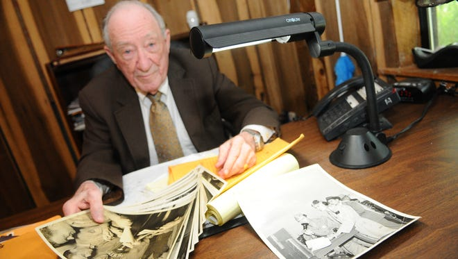 Charles Holt, owner of WHSY talk radio, died Thursday at a Jackson hospital. He was 96.