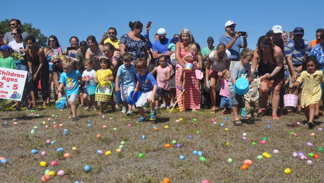 The Royal Scoop Easter Egg Hunt & Games, which features 26,000 eggs, is among the many Easter and spring events in Southwest Florida.