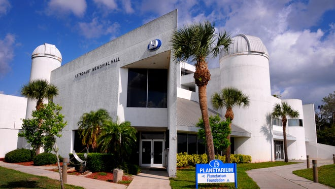 The Eastern Florida State College Planetarium on the Cocoa Campus was damaged by Hurricane Irma and has been closed since the storm. The college will attempt to secure $9 million to repair and modernize the facility, which boasts the region's largest telescope regularly open to the public.