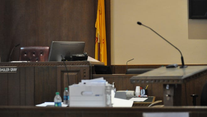 A jury trial against Thomas Enloe is in Fifth Judicial District Court in Carlsbad. District Judge Jane Shuler-Gray presides the trial, which is expected to continue into the week of May 7,
