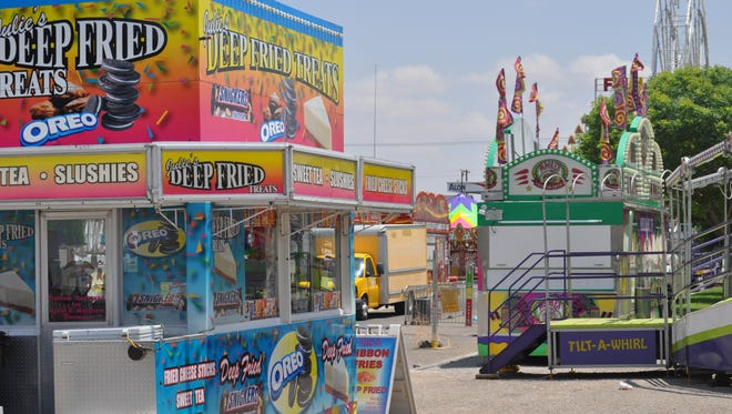 The Heights Lions Club will host the annual carnival through Sunday, May 27, 2018 this week at the Ray Anaya Plaza on San Jose Boulevard.