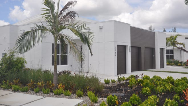 Independent living units at Amavida include apartments or cottages (shown).
