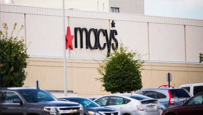 The Glendale Mall Macy's on Aug. 11, 2016. Macy's will close about 100 stores next year as the department store continues to pare its business in the face of changing shopping patterns and more online competition. The company has not released the stores that will be closing in the Indianapolis area.