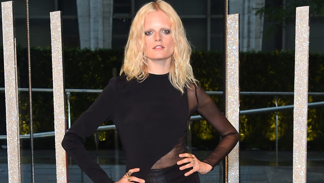 Hanne Gaby Odiele attends the 2015 CFDA Fashion Awards at Alice Tully Hall at Lincoln Center on June 1, 2015, in New York.