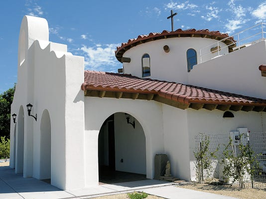 The new Holy Cross Chapel is open all week long for retreaters who want a quiet place to reflect, pray or meditate.
