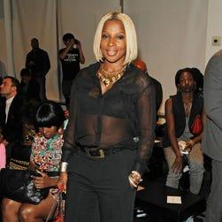 Mary J. Blige at Harlem's Fashion Row.