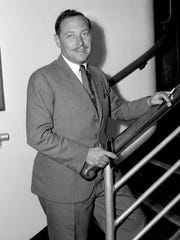 Playwright Tennessee Williams explored issues of family