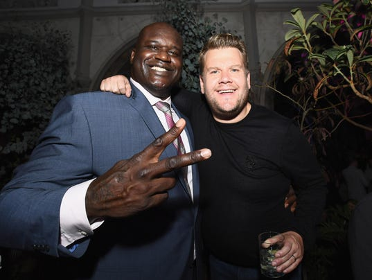 BESTPIX: Apple Music Launch Party Carpool Karaoke: The Series With James Corden