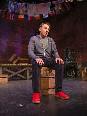 """Colin Quinn in a scene from """"Colin Quinn The New York Story"""""""