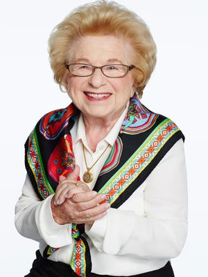 """Westheimer will attend a Aug. 16 production of """"Becoming Dr. Ruth,"""" a play based on her life."""