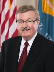 Senate Minority Leader Gary Simpson, R-Milford