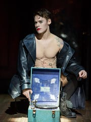 "Randy Harrison stars as the Emcee in the 2016 National Tour of Roundabout Theatre Company's ""Cabaret."""