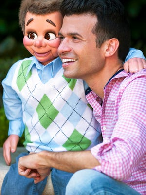 Singer-ventriloquist Brent Vernon and Sam will perform June 9 in Port St. Lucie.