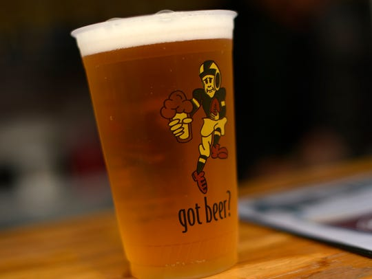 A beer from Titletown Brewery Company during Savour