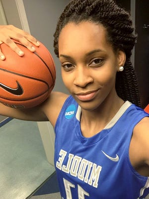 Mississippi prospect Jadona Davis committed to MTSU on Tuesday.