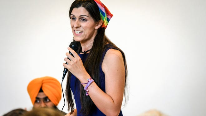 Del.-elect Danica Roem, who beat Bob Marshall to be elected the first openly transgender lawmaker in the nation.