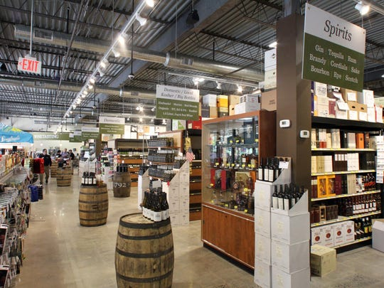 Gary's Wine & Marketplace in Hillsborough, a roughly 9,000 square-foot store which features a broad selection of wines, craft beers, and spirits, and gourmet cheeses, crackers, olives, and charcuterie as well as related gifts and accessories is photographed on Tuesday June 30, 2015