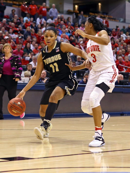 NCAA Womens Basketball: Big Ten Conference Tournament-Ohio State vs Purdue