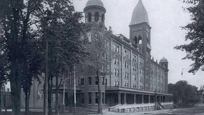 The popularity of the facility — renamed the Clifton Springs Sanitarium in 1871— rapidly grew, fueling a building expansion in the 1880s, followed by the construction of the 5-story brick edifice, at 11 E. Main St., in 1896.