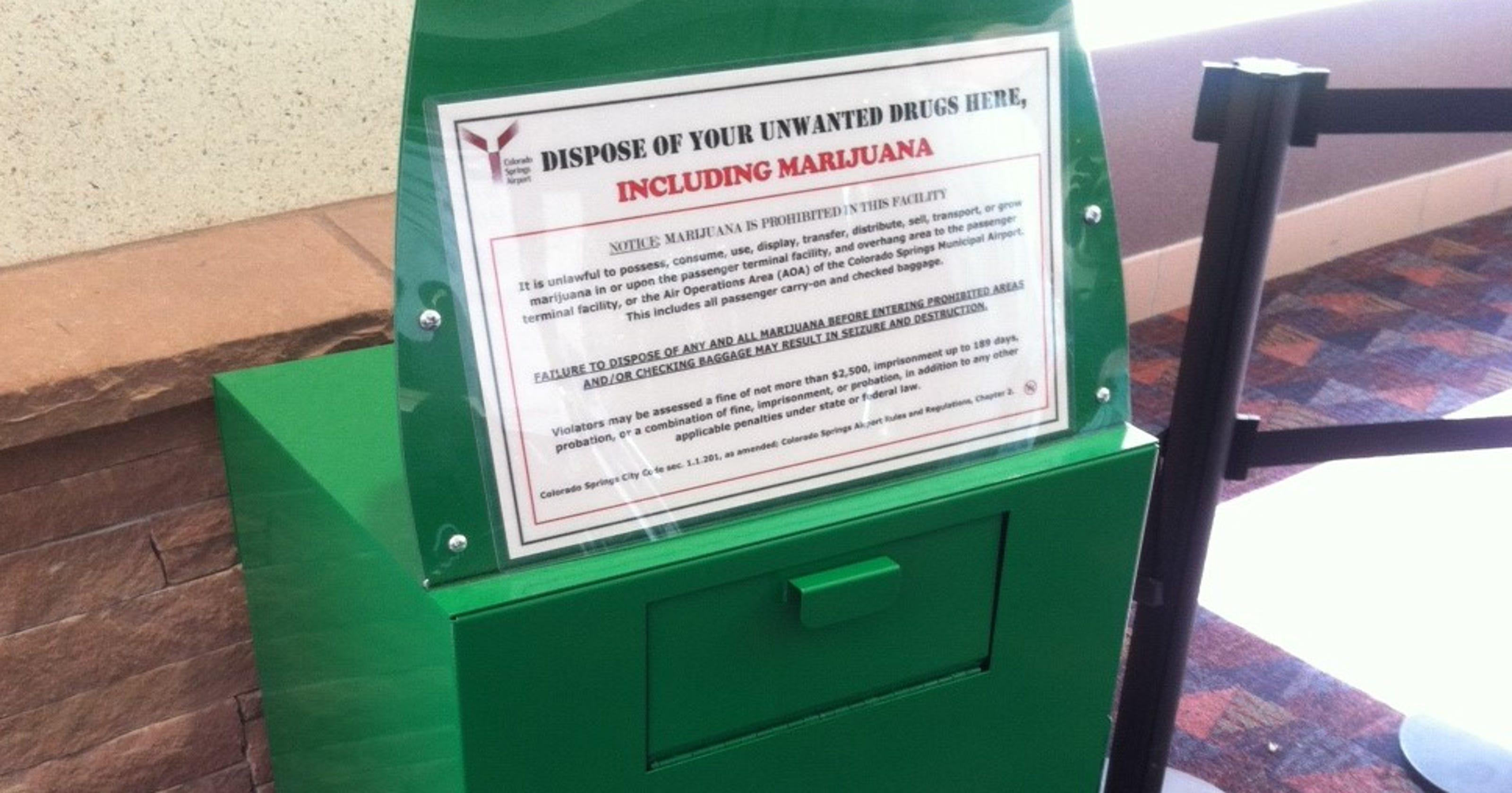 Marijuana at airports: Colo , Wash  adjust to new laws