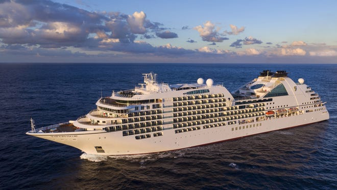 Christened in Singapore on Jan. 7, 2017, the 40,350-ton Seabourn Encore is luxury line Seabourn's biggest ship ever.