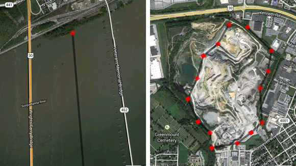 Measuring Distance Space Using Google Maps For Live Storytelling